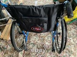 Enigma Spirit lightweight folding self propelled wheelchair
