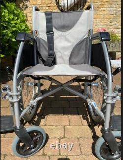 Enigma Ultra Lightweight Aluminium Folding Self Propelled Wheelchair 18