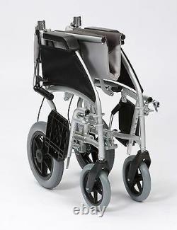 Enigma Ultra Lightweight Aluminium Transit Wheelchair 17 or 20 Seat