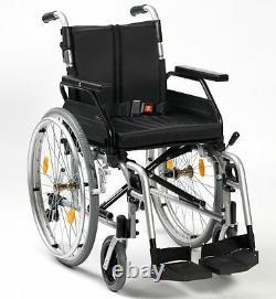 Enigma XS 2 Lightweight Folding Self Propel Wheelchair Crash tested