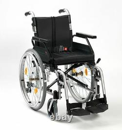 Enigma XS2 Lightweight Aluminium Folding Self Propelled Wheelchair