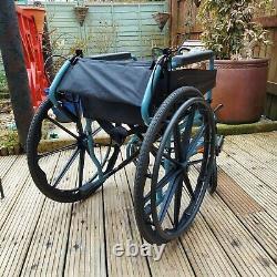 Escape Lite Self Propel Wheelchair 18 Silver Blue Great Condition Lightweight