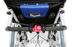 Esteem Deluxe Reclining Lightweight Wheelchair with Attendant Brakes