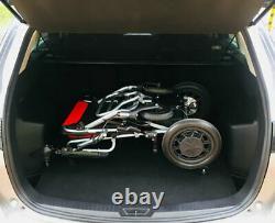 FOLDACHAIR Ultra Lightweight Folding Electric Wheelchair 14.5 kg with FREE P+P