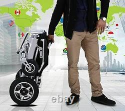 Fold and Travel Lightweight Electric Power Wheelchair Mobility Aid Automated