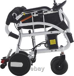 Fold and Travel Lightweight Electric Wheelchair, Portable Mobility Wheel chair