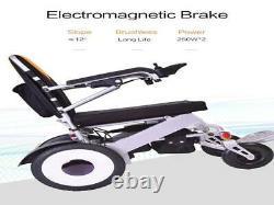 Foldable Electric Wheelchair Lightweight Heavy Duty Durable Power Wheel Chair