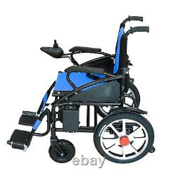 Foldable Electric Wheelchair Lightweight Heavy Duty Lithium Battery Power Chair