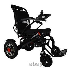 Foldable Lightweight Electric Wheelchair Power Wheelchair 22 Wide Seat