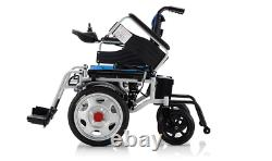 Foldable Lightweight Portable 24V 20Ah Electric Power Wheelchair No Slide4