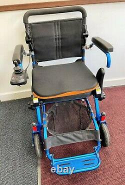 Foldalite Electric Wheelchair Lightweight Folds In Seconds Transportable Chair