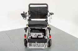 Foldalite Electric Wheelchair Powerchair Lightweight Folding Travel Lithium New