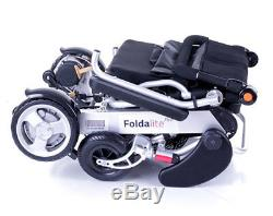 Foldalite Pro Folding LightWeight Transportable Electric Wheelchair Suspension