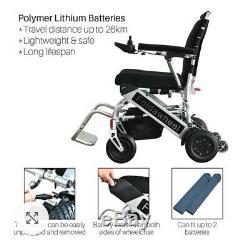 Foldawheel Pw-999ul Folding Lightweight Electric Power Wheelchair