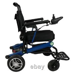 Folding 360with24v Powered Lightweight Electric Wheelchair Mobility Scooter NEW