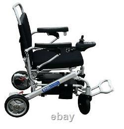 Folding Electric Wheelchair, Lightweight Hi-tech Powerchair 120kg Loadcapacity