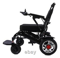 Folding Lightweight Electric Power Wheelchair Medical Mobility Aid 19 Seat