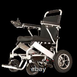 Folding Lightweight Electric Power Wheelchair Medical Mobility Aid Motorized FDA