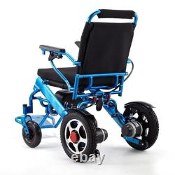 Folding Lightweight Electric Power Wheelchair Mobility Aid Motorized2