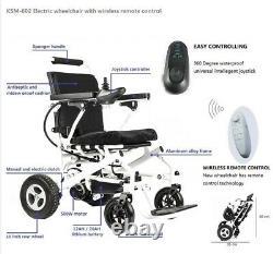 Folding lightweight Electric Wheelchair 3 Year Warranty