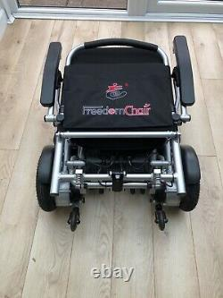 Freedom A08 Lightweight Folding Electric Wheelchair Powerchair