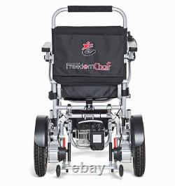 Freedom Chair AO8L, Lightweight Folding Powered Wheelchair NEW Free Delivery