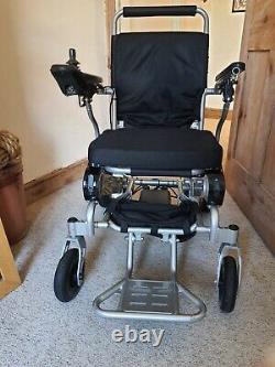 Freedom DO9 Lightweight Folding Electric Wheelchair. 120kg max user weight