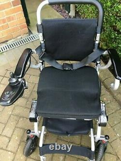 IGo Pride Lightweight Folding Four Speed Electric Wheelchair
