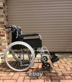 Immaculate Angel lightweight folding aluminium self-propelled wheelchair