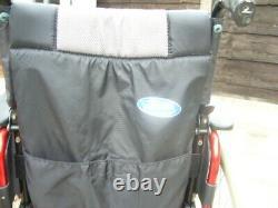 Invacare Action lightweight alloy folding wheelchair