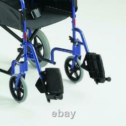 Invacare Alu Lite Transit Lightweight Wheelchair 16 Seat Width Slim Narrow