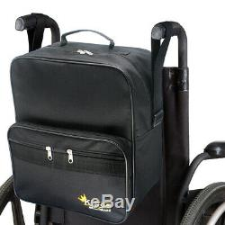 KINGS Elite Wheelchair Foldable Lightweight Self Propelled Transit Mobility Aid