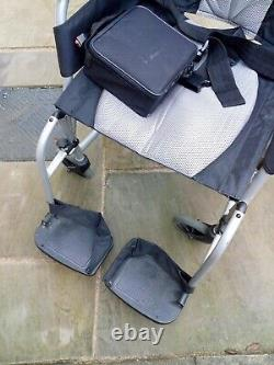 Karma Ergo Lite 2 (KM-2512) Ultra Lightweight wheelchair & Roma power pack