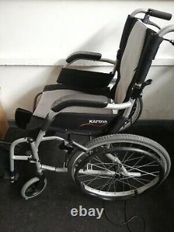 Karma Ergo Lite 2 Self Propelled Ultra Lightweight Wheelchair 18x16