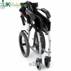 Karma Ergo Lite 2 Ultra Lightweight Mobility Transit / Travel Wheelchair