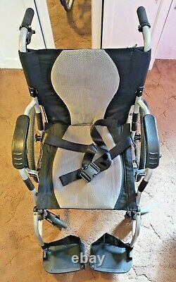 Karma Ergo Lite 2 Ultra-lightweight Ergonomic Aluminium Folding Wheelchair11.5kg
