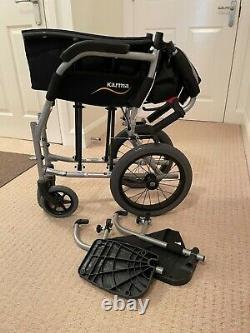 Karma Ergo Lite Series KM-2501 Lightweight Wheelchair in Black