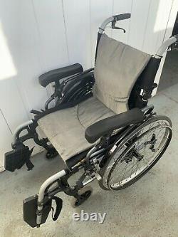 Karma Self Propelled / Attended Wheelchair Lightweight 17.5 Wide 17 Deep