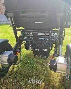 LITH-TECH Smart Chair 1 Electric Folding Wheelchair, Light Weight (Lithium Bat)