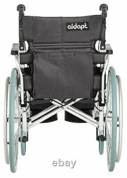 Lightweight Aluminium Self-Propelled Padded Seat Wheelchair