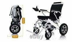 Lightweight Electric Wheelchair Folding Foldable Heavy Duty Power Wheelchair