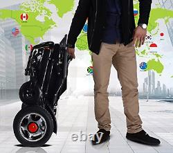 Lightweight Electric Wheelchair for Adults Foldable Power Wheel chair Scooter
