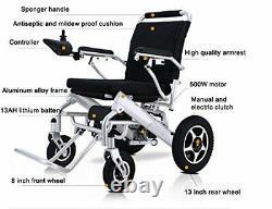 Lightweight Electric Wheelchairs Portable Motorized Power Wheel Chair Powerchair