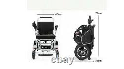 Lightweight Foldable Alloy Multi Functional Power Electric Folding Wheelchair