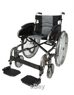 Lightweight Folding Aluminium Self Propelled Wheelchair Only 7.3kg Propel