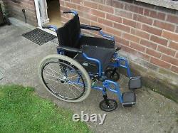 Lightweight Self Propelled Fold Up Steel Wheelchair