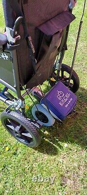 Lightweight folding electric wheelchair new