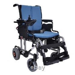 Lightweight folding electric wheelchair powerchair + lithium battery 25kgs DEMO