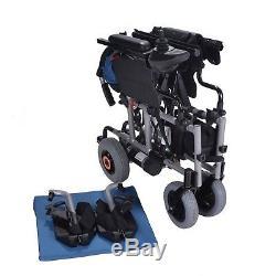 Lightweight folding electric wheelchair powerchair + lithium battery only 25kgs