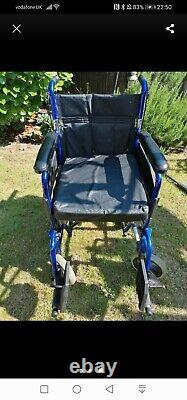 Lightweight folding electric wheelchair used ztec